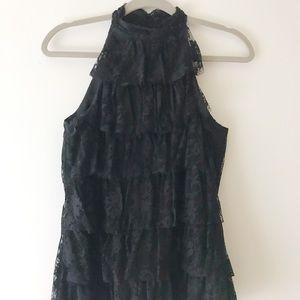 Black Lace ECI Blouse